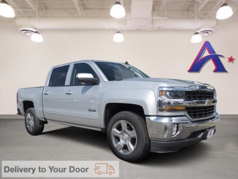 Certified Pre-Owned 2018 Chevrolet Silverado 1500 LT RWD 4D Crew Cab