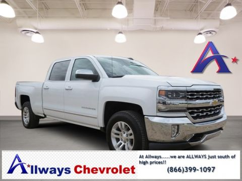 Certified Pre-Owned 2017 Chevrolet Silverado 1500 LTZ 4WD